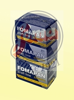 FOMAPAN 100 135-36  - SET 3 KS (trojbal)